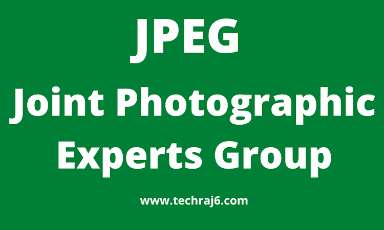 JPEG full form, what is the full form of JPEG