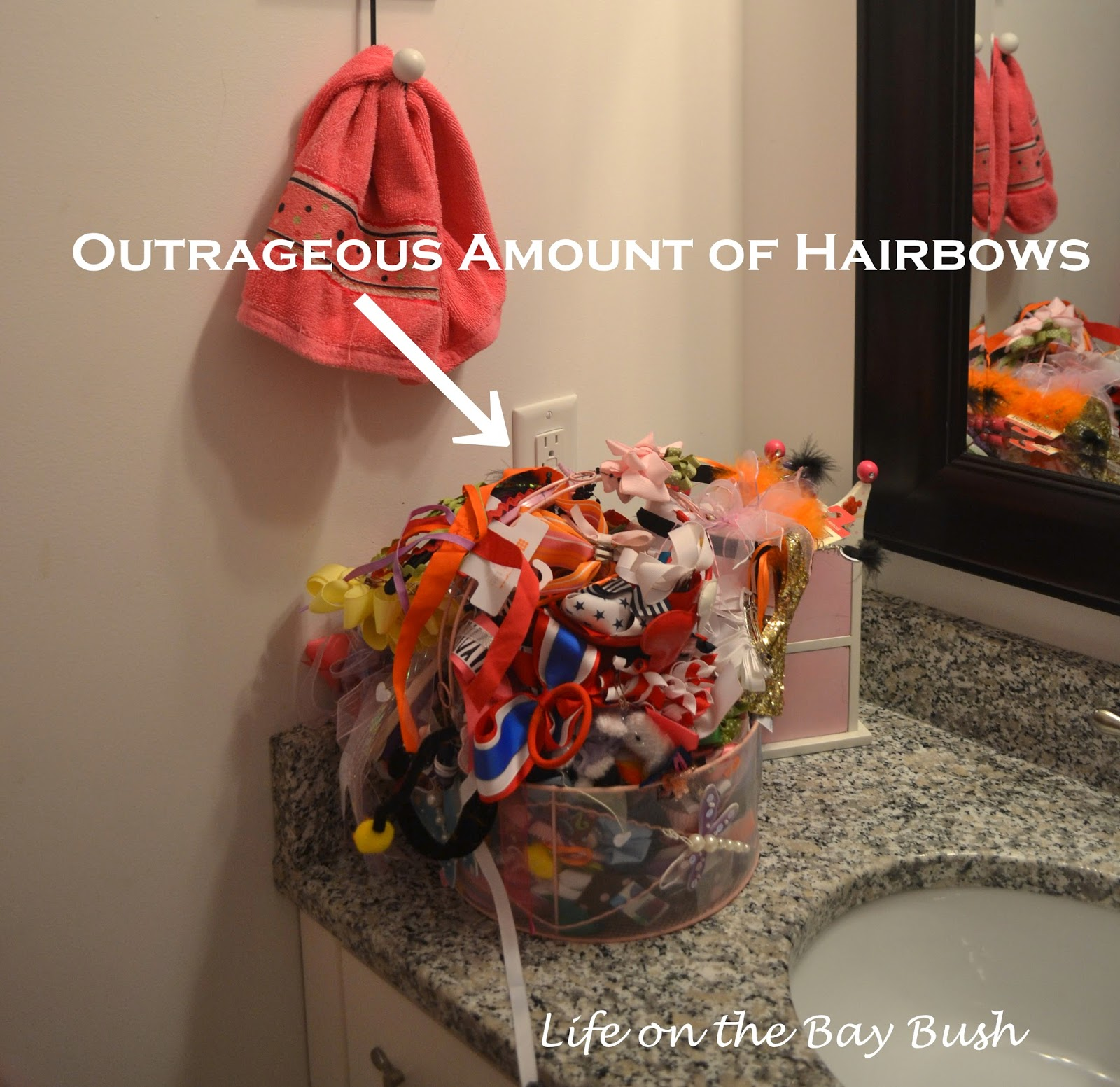 Quick and Easy Hairbow Storage