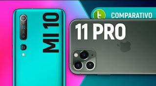 MI 10 VS I PHONE PRO MAX