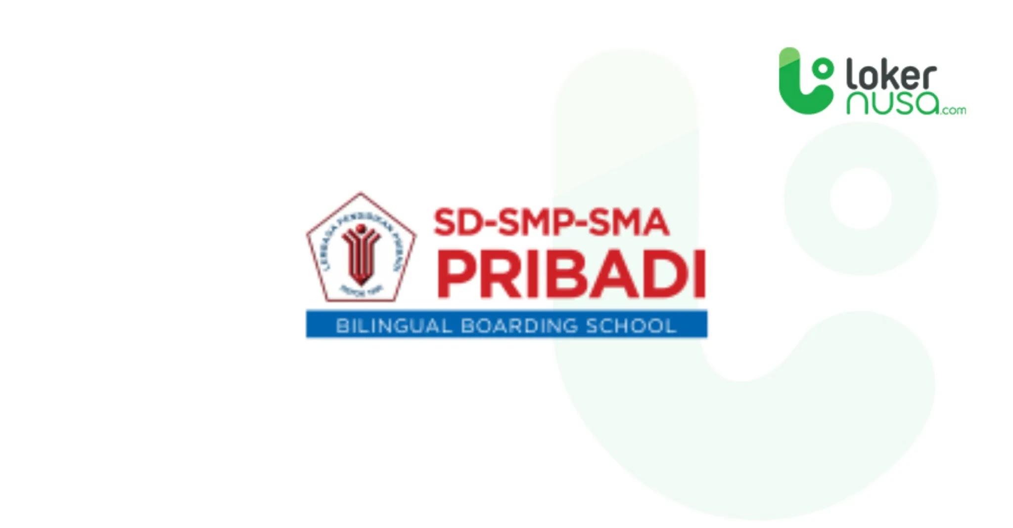 Lowongan Kerja Juli 2021 Pribadi School