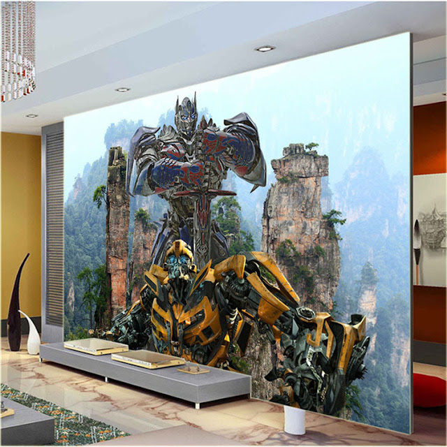 Transformers Wall Murals Boys Room