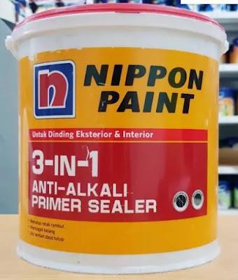 Cat Nippon Paint 3 in 1 Anti Alkali Primer Sealer
