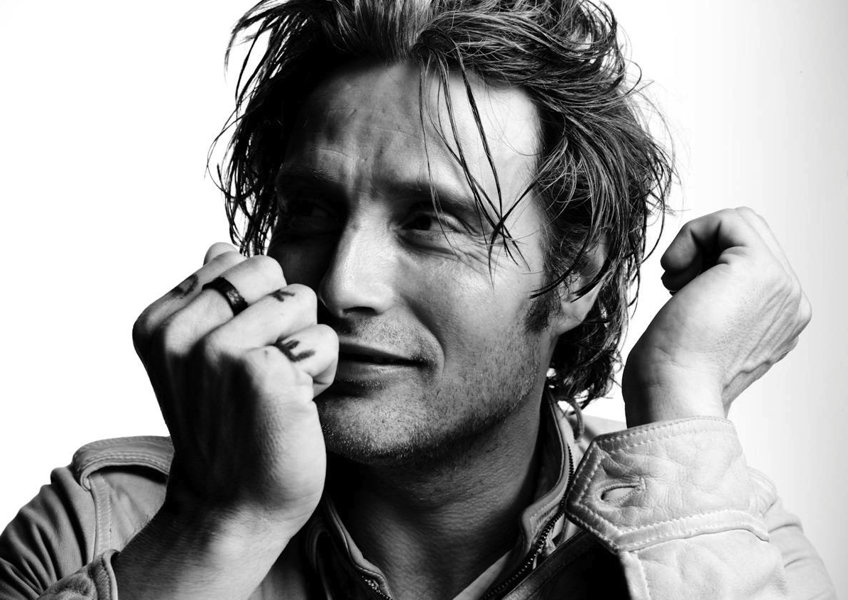 My New Plaid Pants: Good Morning, Gratuitous Mads Mikkelsen