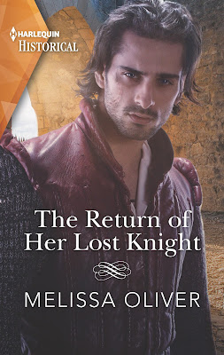 The Return of Her Lost Knight by Melissa Oliver book cover Mills & Boon historical
