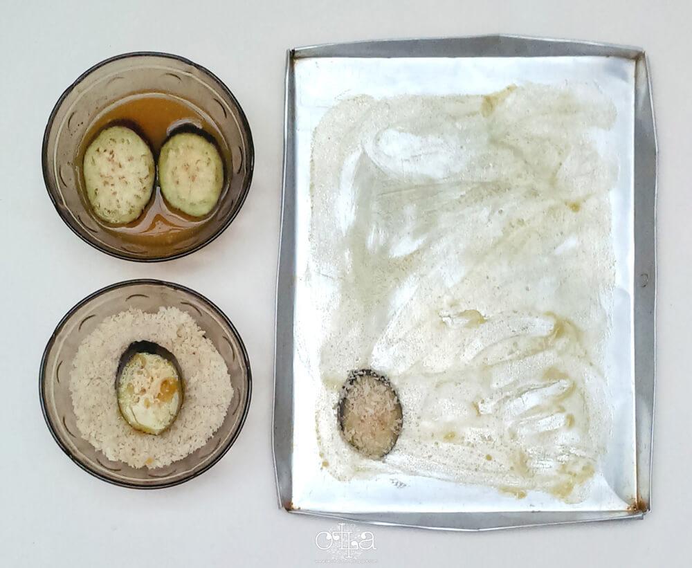 Terung Crunchy Mozarella Recipe Langkah Memanggang