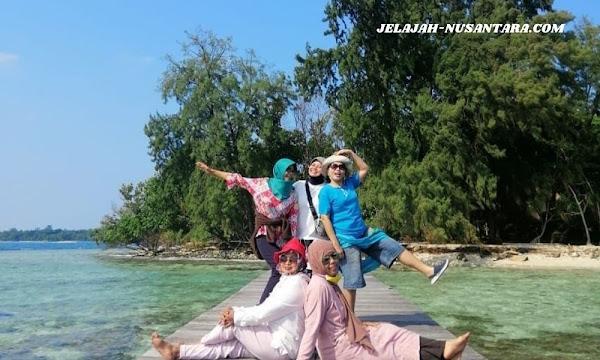 konsumsi paket wisata private trip pulau harapan 3 hari 2 malam kepulauan seribu
