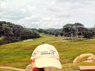 Lapangan Golf di Bintan Lagoon Resort
