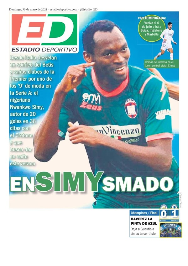 """Betis, Estadio Deportivo: """"En-Simy-smado"""""""