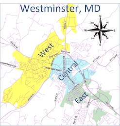 Westminster Carroll County Maryland