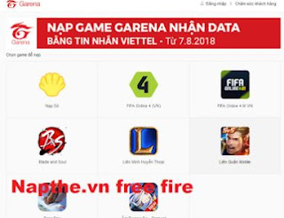 Napthe vn Free Fire