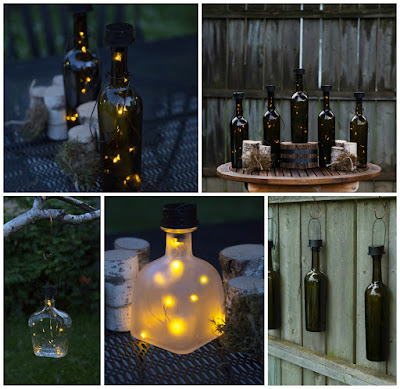 solar powered wine bottle lights