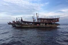 7 Kapal Nelayan Tanjung Balai ditahan Ditpolair Polda Riau