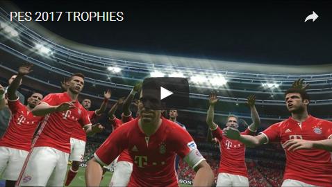 PES 2017 21 Trophies dari Ronito