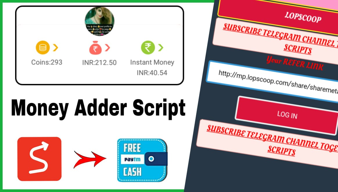 LopScoop add money script