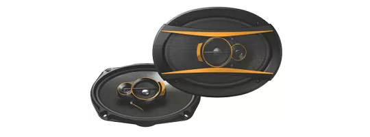 Songbird 3 Way Super Bass Gold Series Coaxial Car Speakers