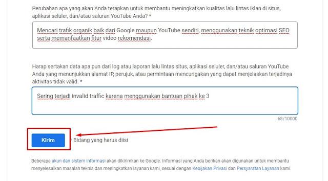 Mengatasi Tab Monetisasi YouTube Dinonaktifkan