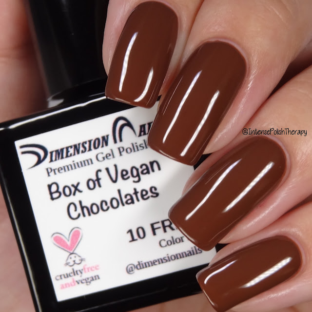 Dimension Nails Box of Vegan Chocolates
