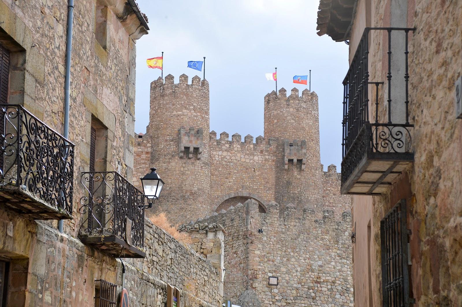 castillo castle sigüenza guadalajara spain españa