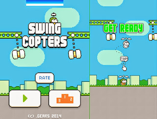 Free download official game Swing Copters .APK Full Data Android