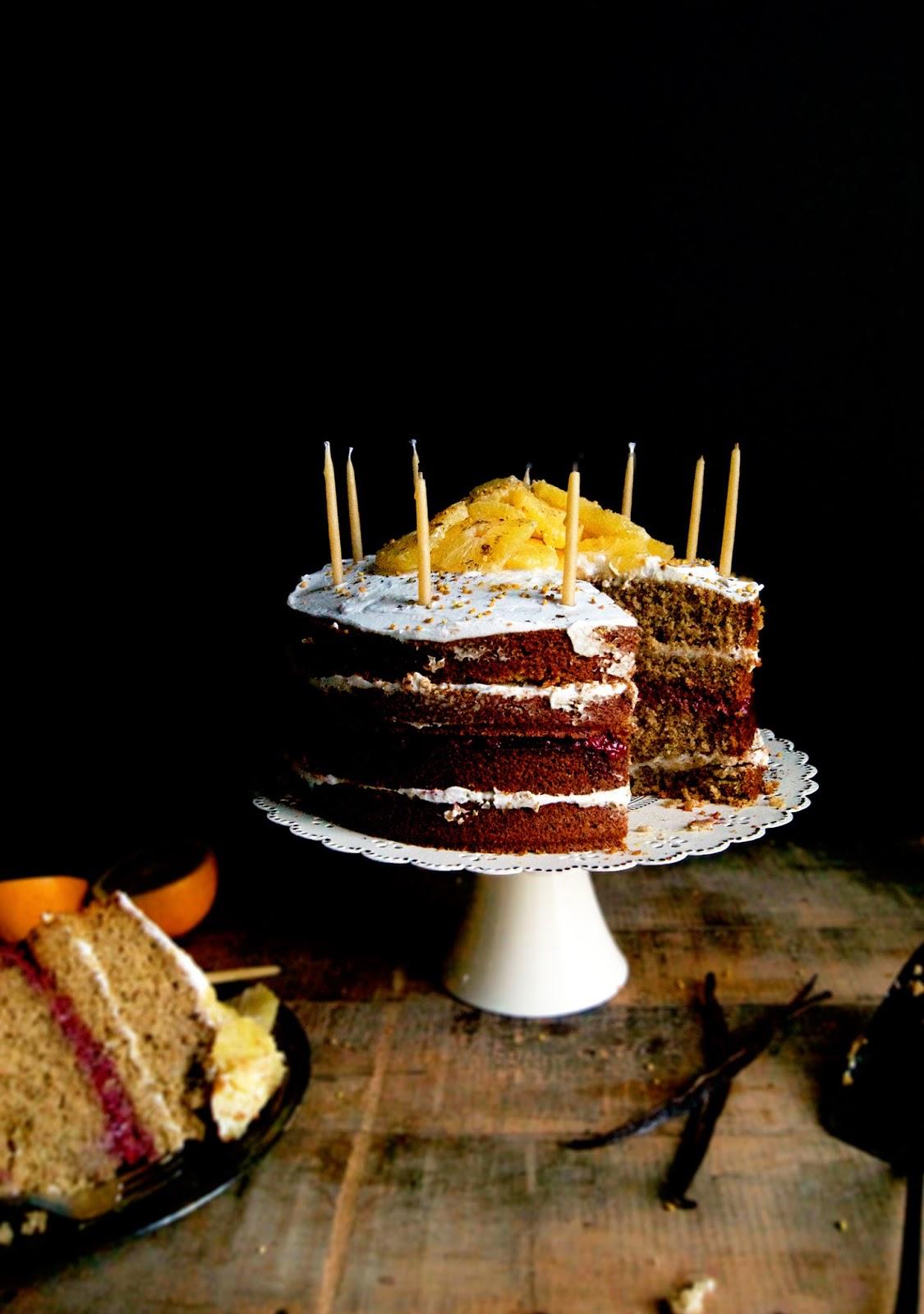 Vanilla Orange Birthday Cake Vegan Occasionally Eggs