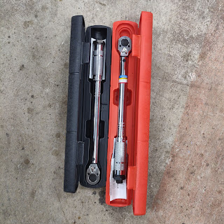 Two cheap torque wrenches