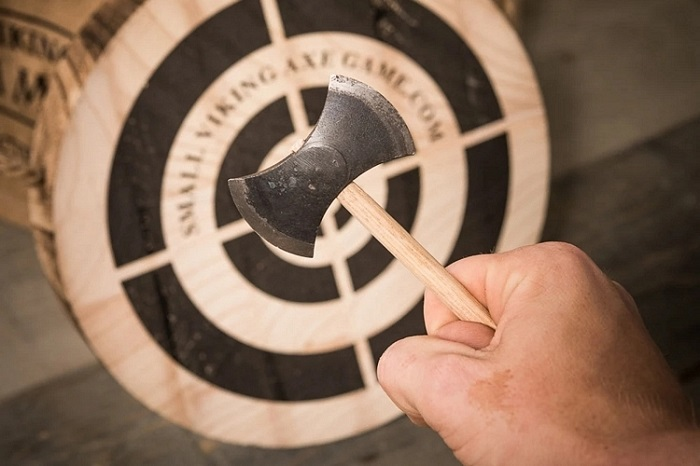The Small Viking Axe Game For Your Axe-Throwing Hobby