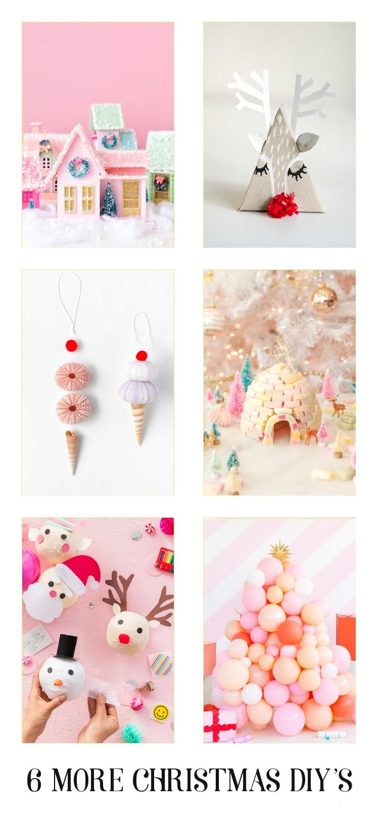 6 MORE CHRISTMAS DIY'S.