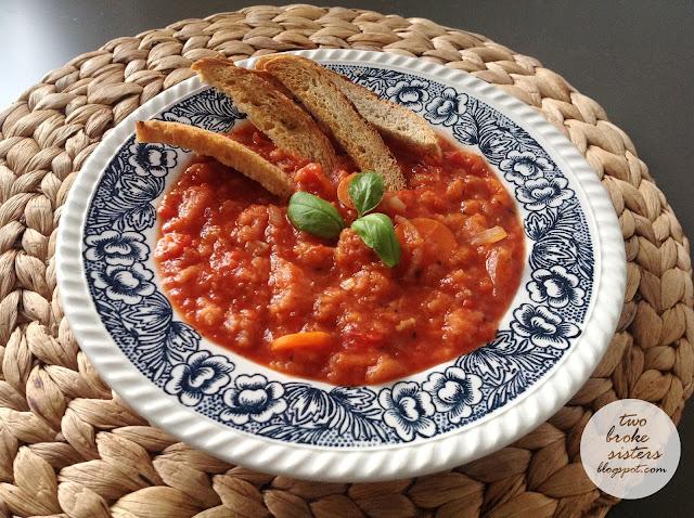 pappa al pomidoro zupa z chleba i pomidorów twobrokesisters
