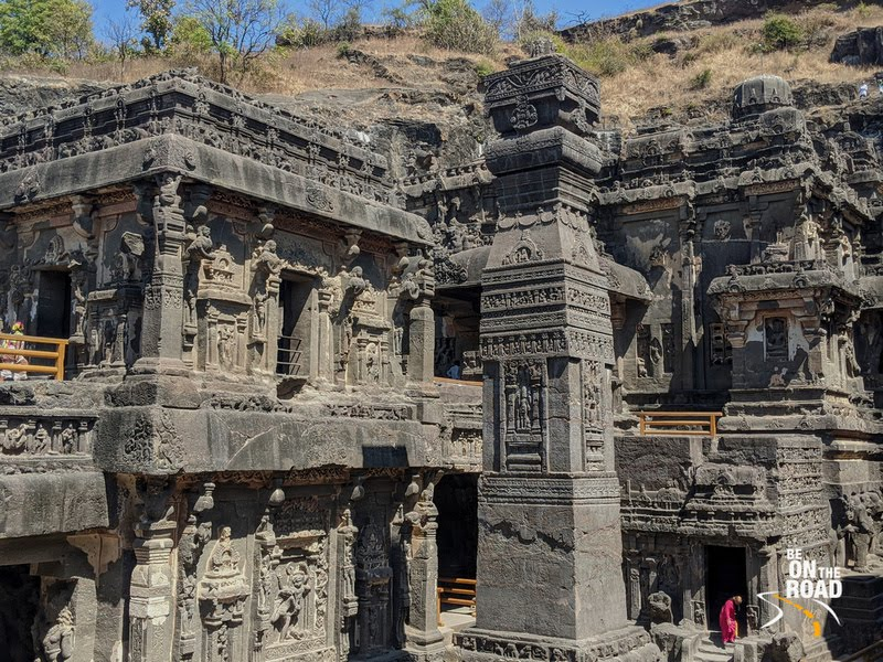 The magnificent Kailasa temple at Ellora Caves, Maharashtra