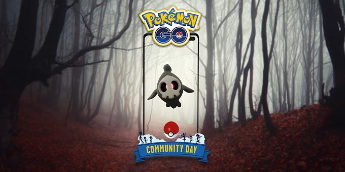 Pokémon GO (Mobile) — Duskull será o destaque do Dia Comunitário de outubro