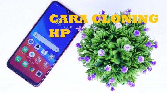 cara cloning HP