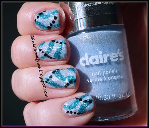 Claire's: #51339 Blue Pastel Sand
