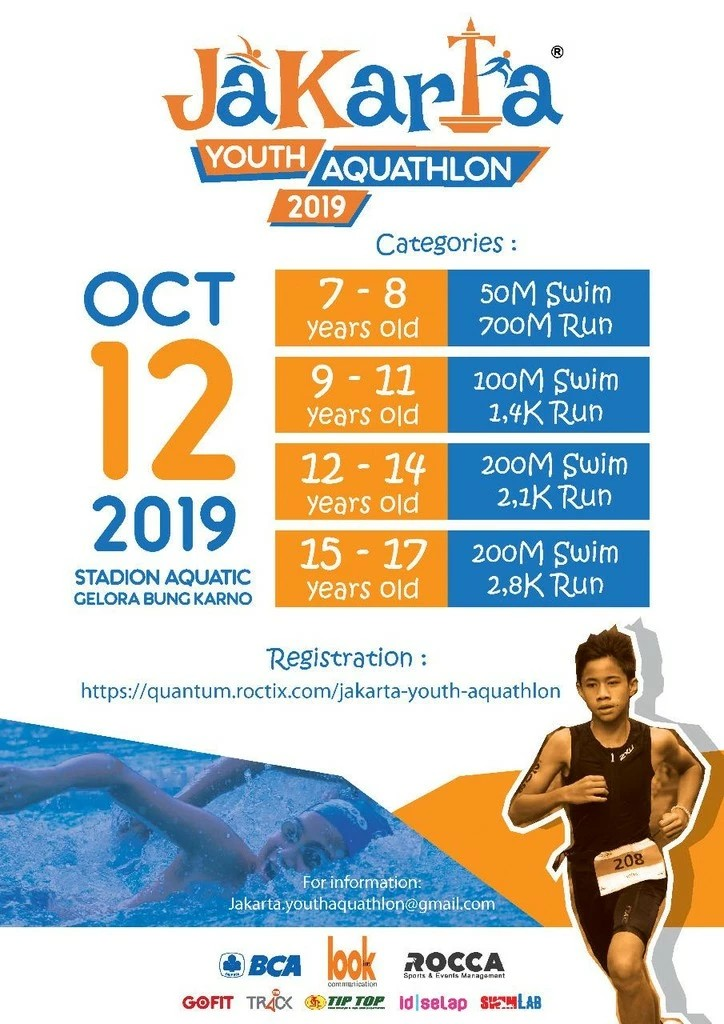 Jakarta Youth Aquathlon • 2019