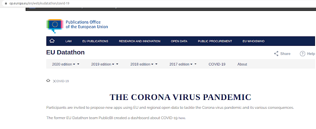 Corona Virus Dashboard that provides information and insights