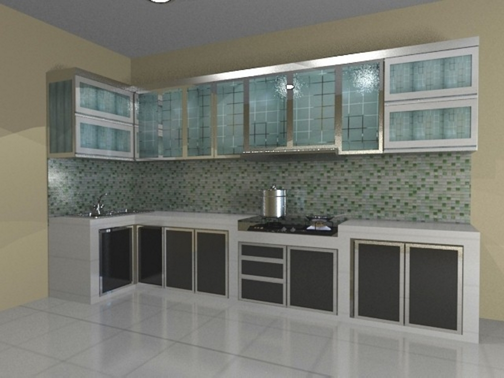 kitchen set dari baja ringan 3