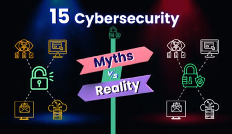 Top 15 Cybersecurity Myths Vs Reality #infographic