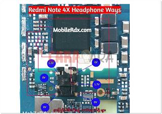 Solusi Jalur Handfree Xiaomi Redmi Note 4X