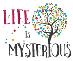 Life is mysterious