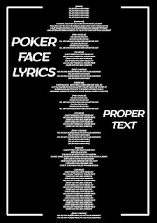 Poker Face Song Lyrics