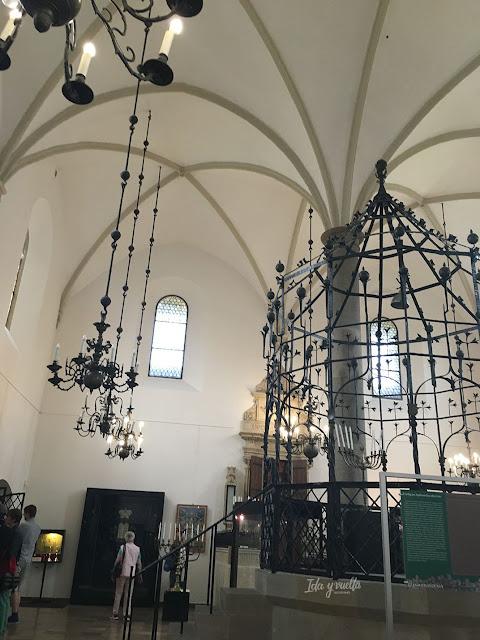 Kazimierz Sinagoga Vieja sala de oración