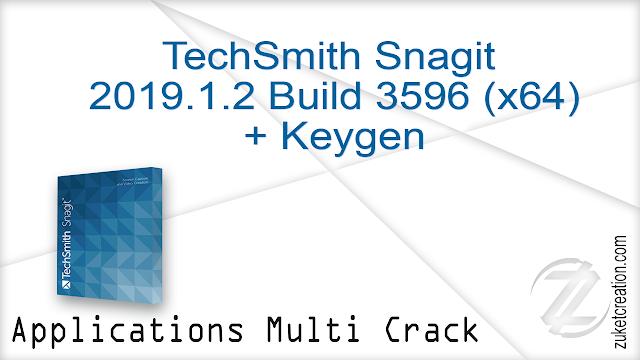 TechSmith Snagit 2019.1.2 Build 3596 (x64) + Keygen     |   291 MB