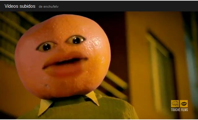 ultimo video enchufe tv el hombre mandarina