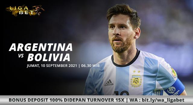 PREDIKSI PARLAY ARGENTINA VS BOLIVIA