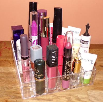 organizador para cosmética