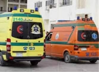 إصابة سائق فى حادث تصادم على الطريق الزراعي بالمراغه فى سوهاج