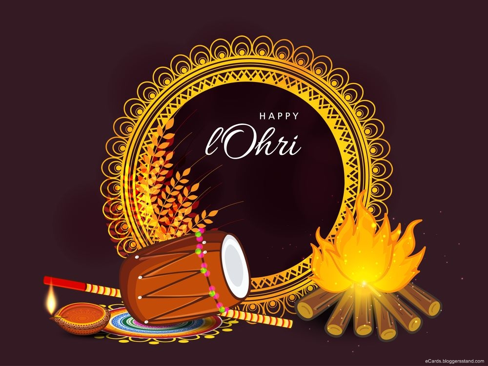Happy lohri best wishes greeting cards, Pictures 2021