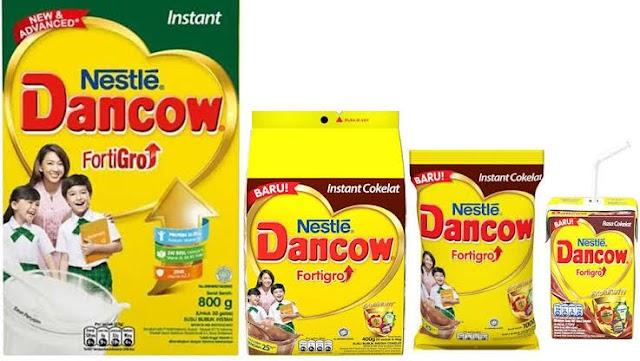 Susu Dancow : Manfaat dan kandungan Gizi di Dalamnya