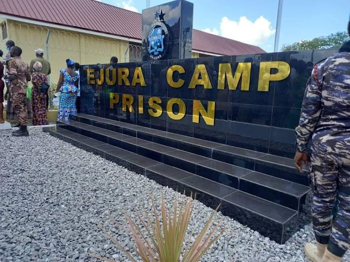 Bright Philip Donkor writes: A serene prison facility reforms lives