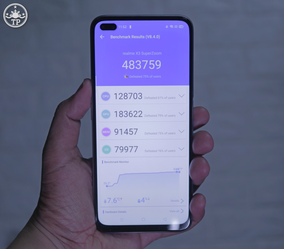 realme X3 SuperZoom Philippines, realme X3 SuperZoom Antutu Benchmark Score