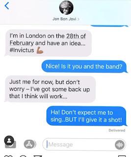 Prince Harry and Jon Bon Jovi to sing for Invictus????
